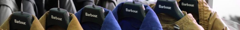 Logo Barbour Jackets costing £200 to £300 GBP