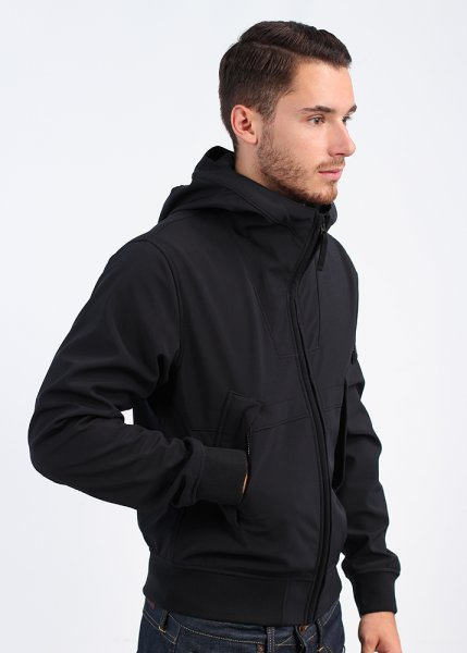 stone island soft shell r hooded bomber jacket. Black Bedroom Furniture Sets. Home Design Ideas