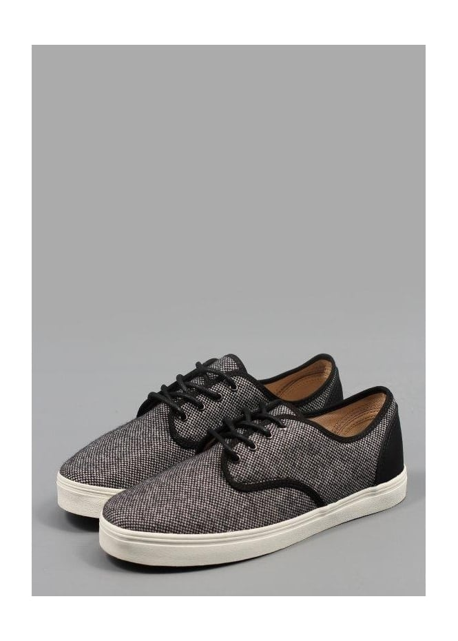 Madero Tweed Shoes Black