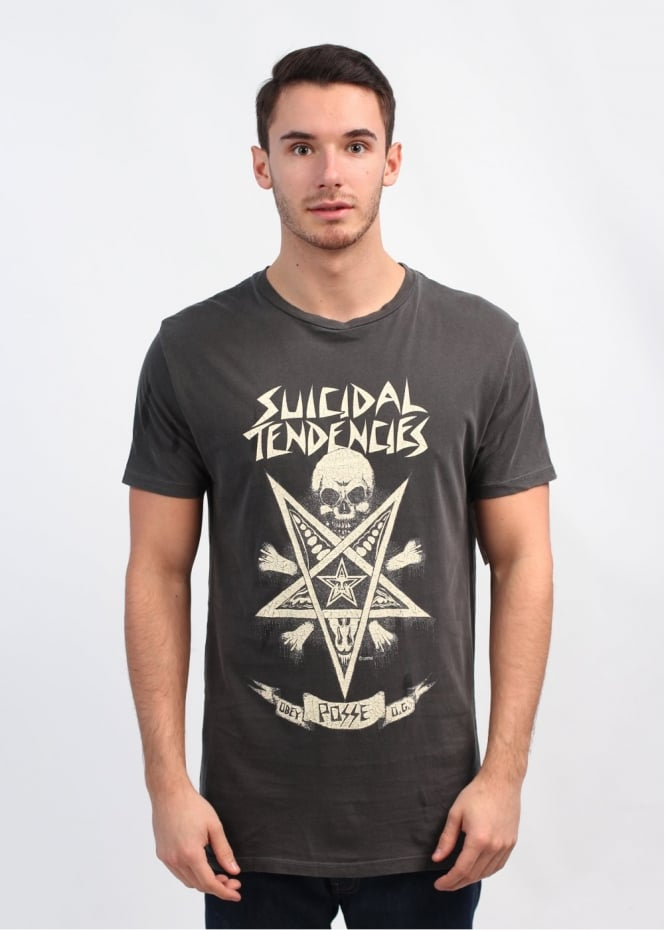 x Suicidal Tendencies Possessed T-Shirt - Dusty Black