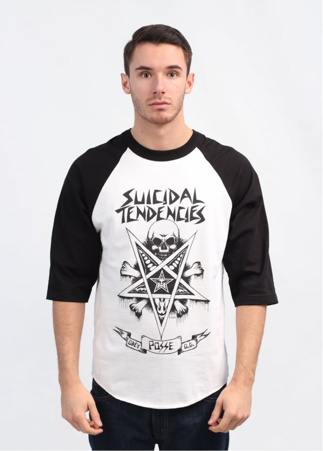 x Suicidal Tendencies Possessed T-Shirt - White / Black