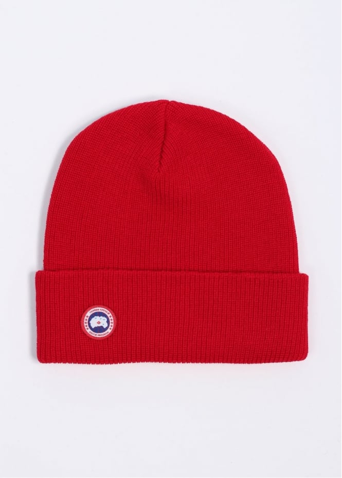 Watch Cap Hat - Red