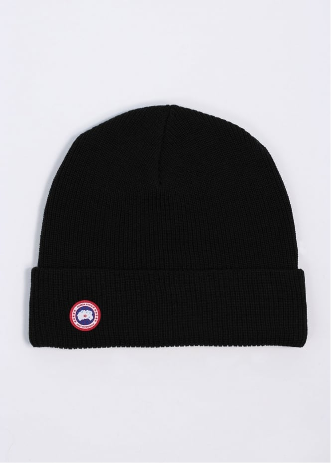 Watch Cap Hat - Black