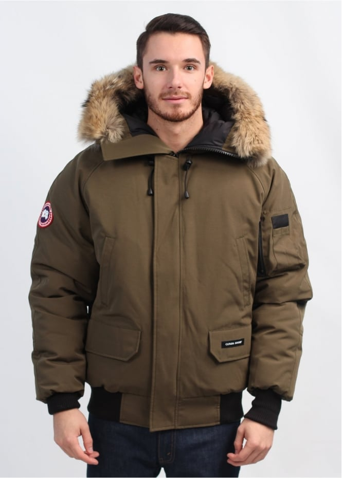Chilliwack Bomber Jacket - Military Green