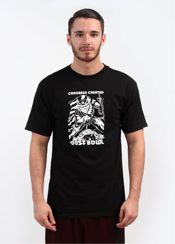 Fuct Hell Bowl Tee - Black