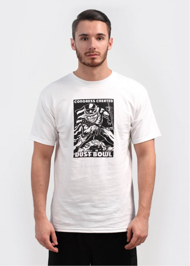 Fuct Hell Bowl Tee - White