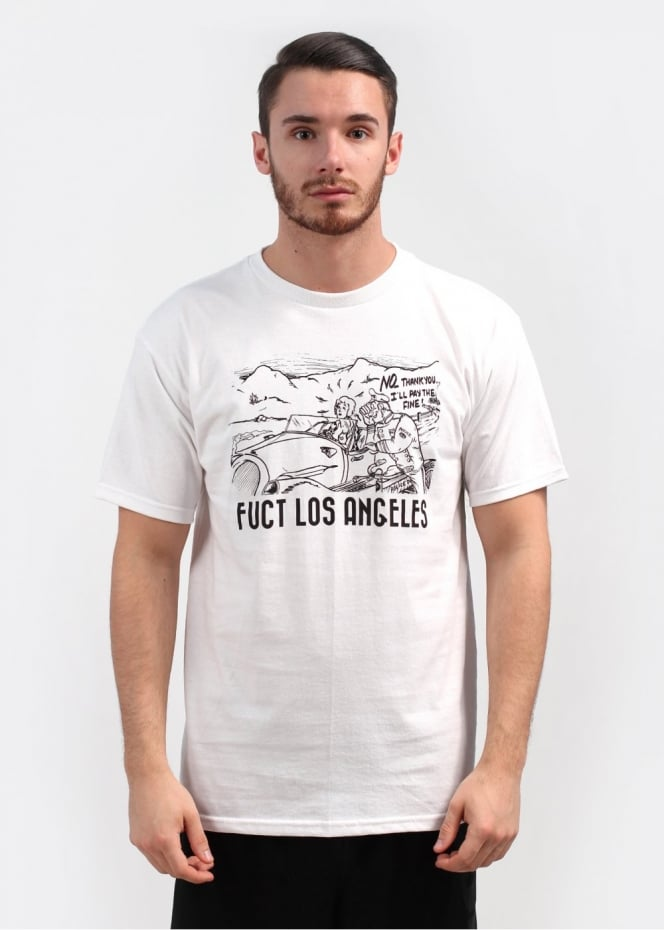 Fuct I'll Pay The Fine Tee - White
