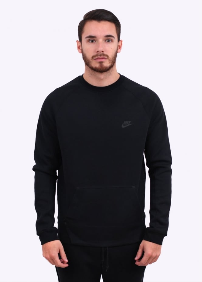 Nike Apparel Tech Fleece Crew Sweatshirt - Black