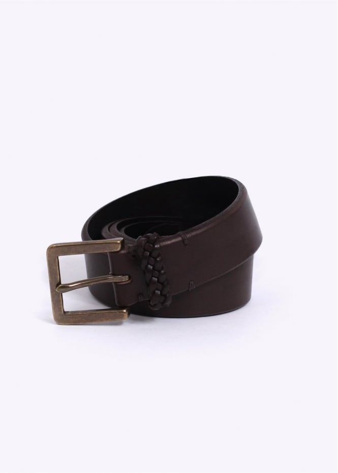 paul smith saddle belt brown