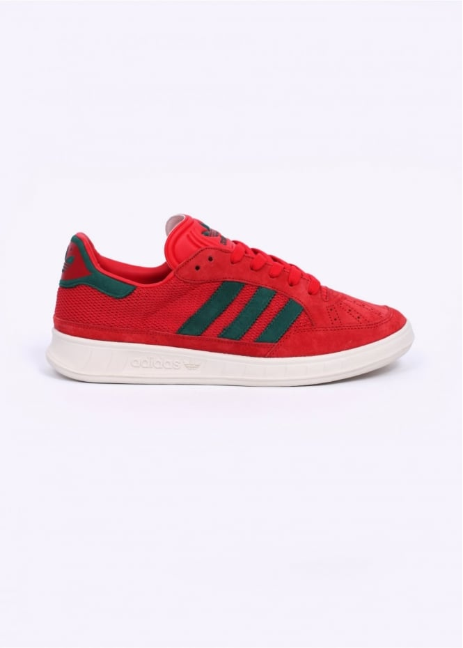 Adidas Originals Footwear Suisse Trainers - Red / Green / White
