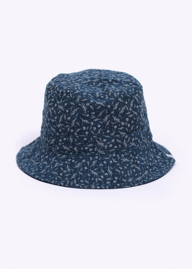 Norse Projects Reversible Discharge Bucket Hat - Indigo