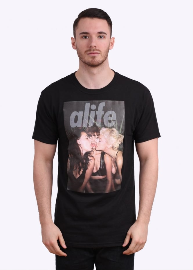 Alife x Pretty Puke Tongues Tee - Black