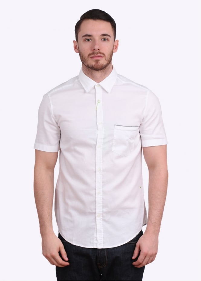 Hugo Boss Byolo SS Shirt - White