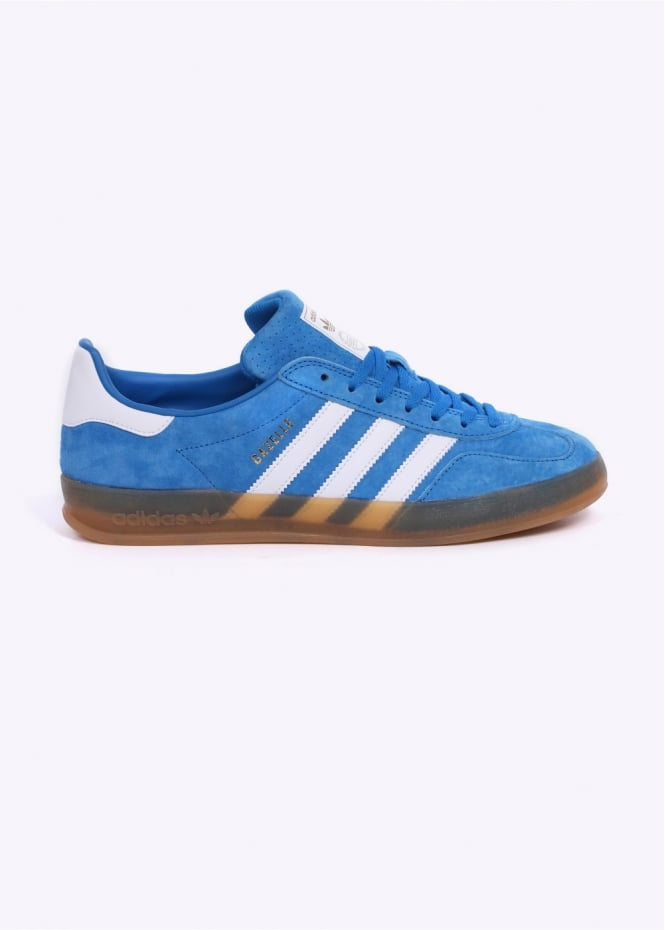 Adidas Originals Footwear Gazelle Indoor Trainers - Bluebird