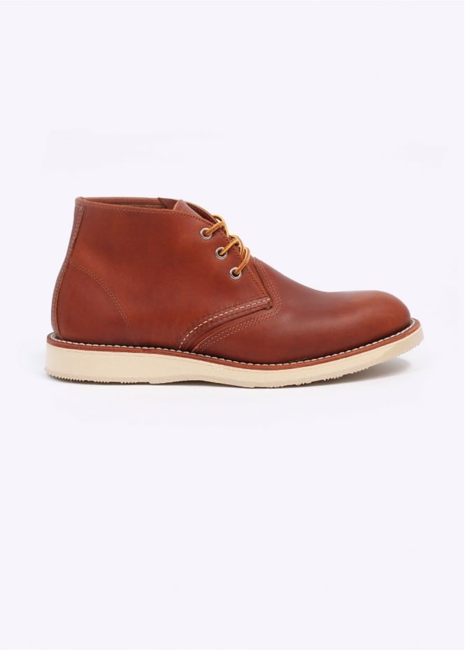 Red Wing Shoes 3140 Heritage Work Chukka Leather Boots - Oro-iginal