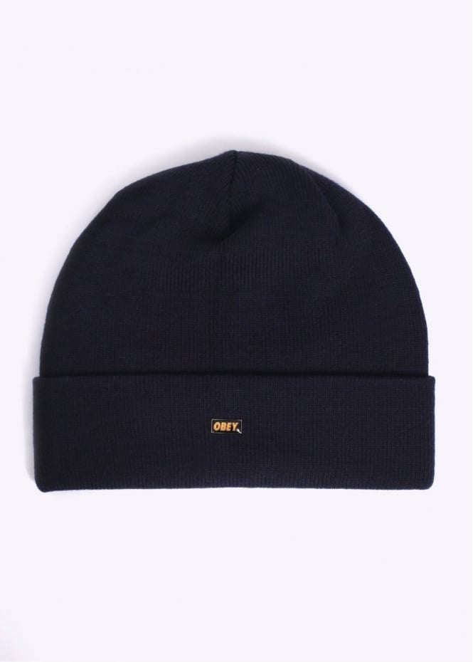Obey Surplus Beanie - Navy