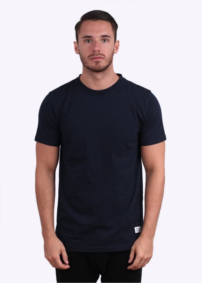 Norse Projects Neils Basic Short Sleeve Tee - Navy