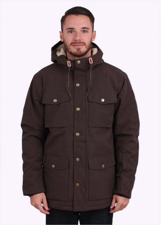 Obey Montclair Jacket - Olive Brown