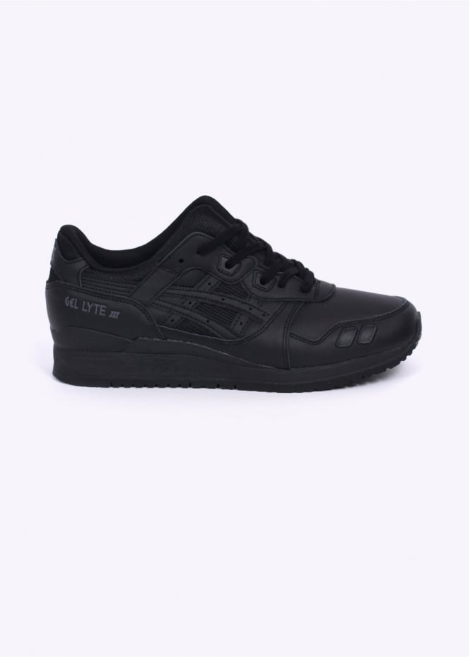 Asics Gel Lyte III Trainers - Triple Black
