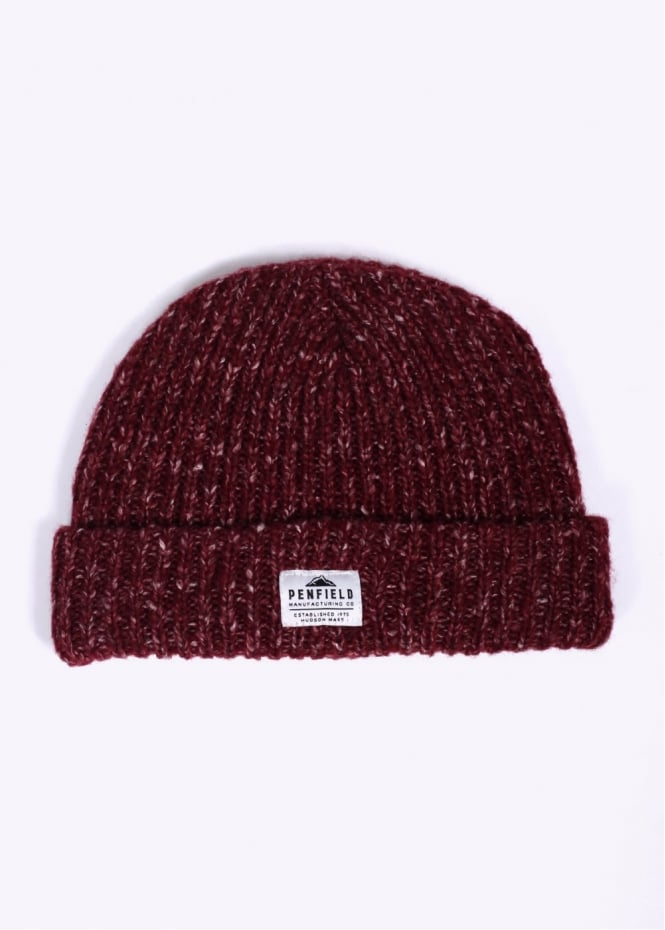Penfield Conway Melange Beanie - Red