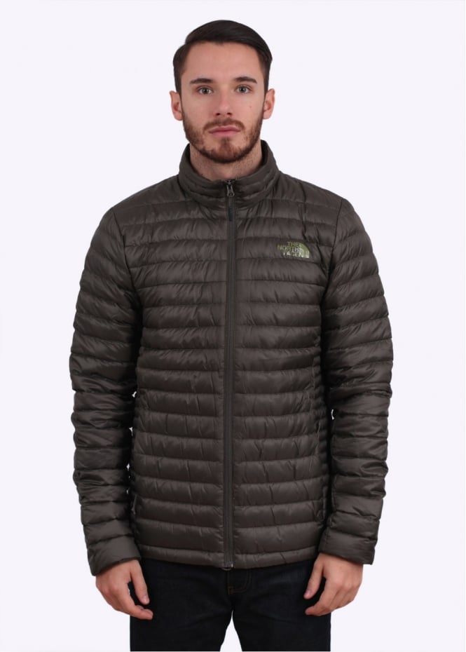The North Face Tonnerro Down Jacket - Black Ink Green