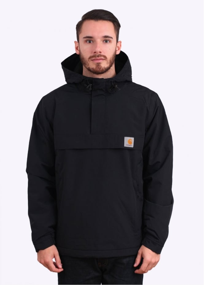 carhartt nimbus pullover hooded jacket black. Black Bedroom Furniture Sets. Home Design Ideas