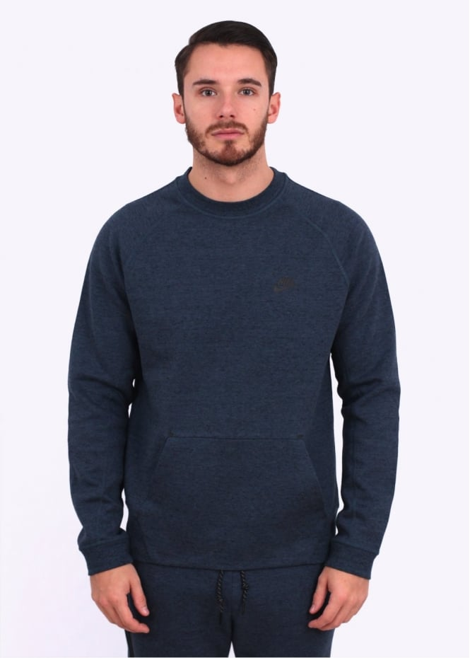Nike Apparel Tech Fleece Crew - Squadron Blue