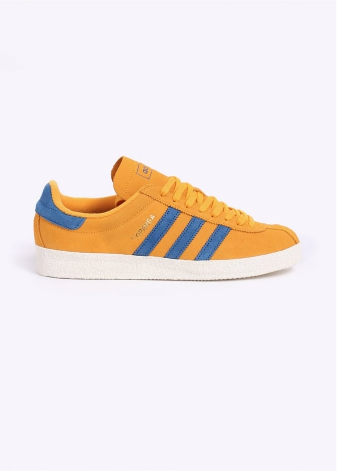 Adidas Originals Footwear Topanga Trainers - Gold