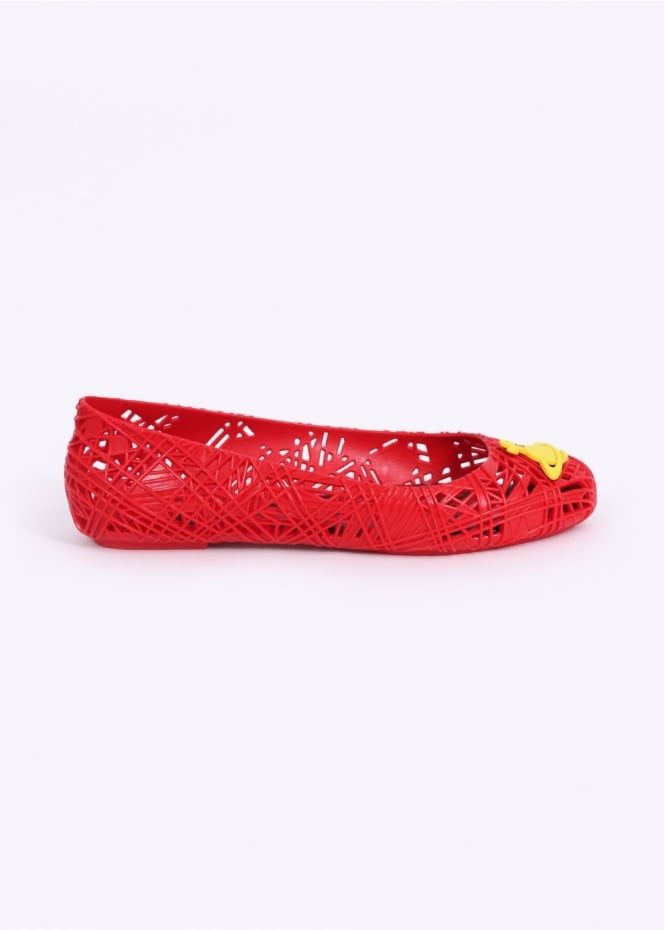 Vivienne Westwood Anglomania x Melissa Scribble Shoes - Red