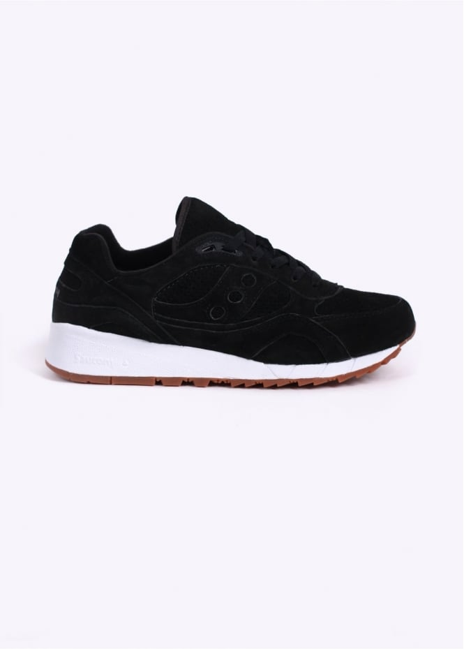 Saucony Shadow 6000 'Irish Coffee' Suede Trainers - Black Coffee