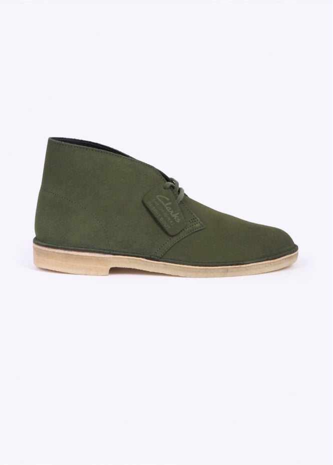 Clarks Originals Desert Boot Suede - Leaf