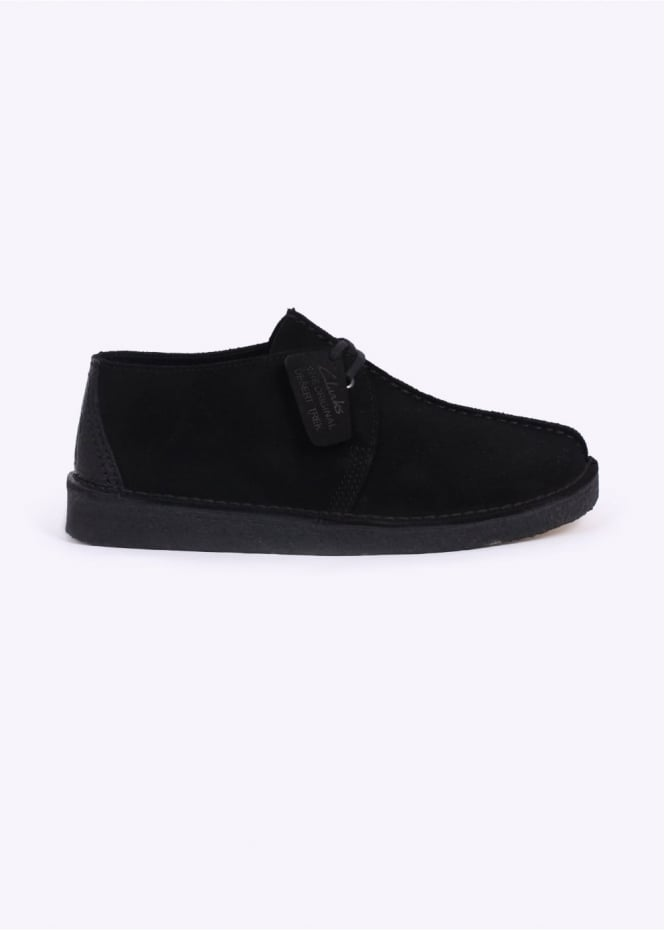 Clarks Originals Suede Desert Trek - Black