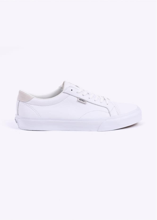 Vans Leather U Court + - White