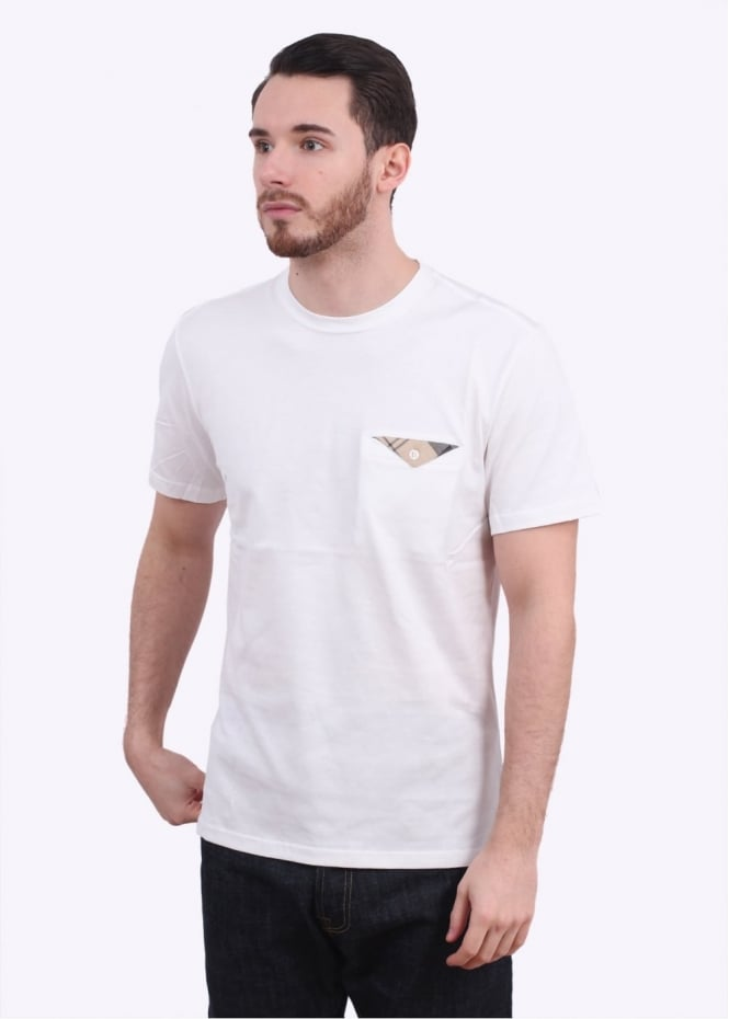 Barbour Walshaw Tee - White