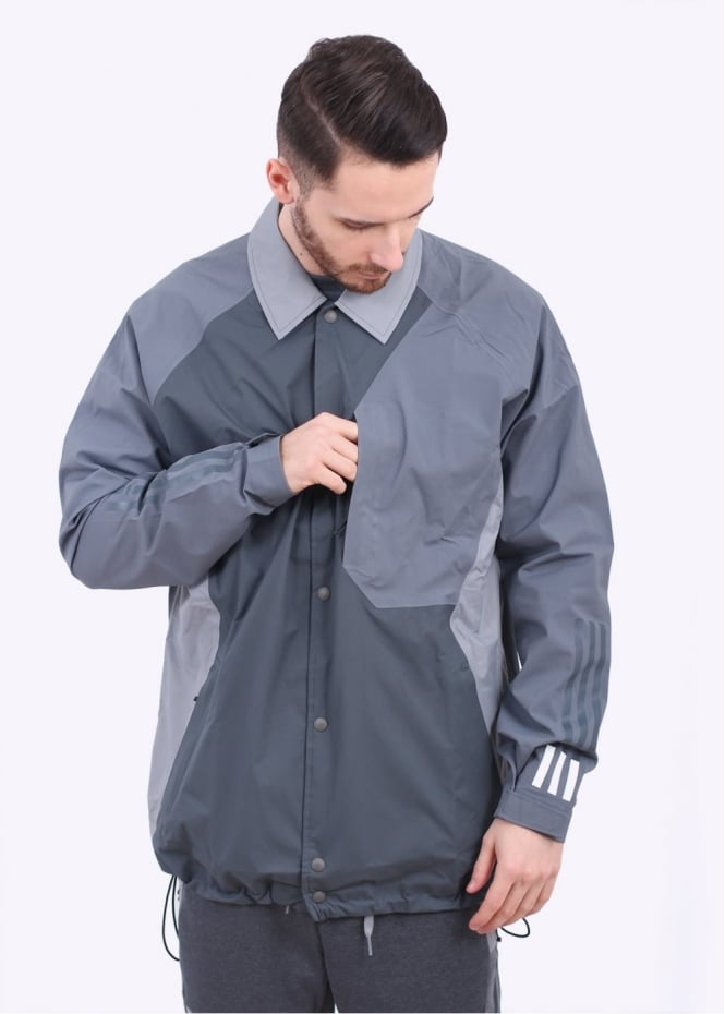 Adidas Originals Apparel x White Mountaineering Bench Jacket - Grey