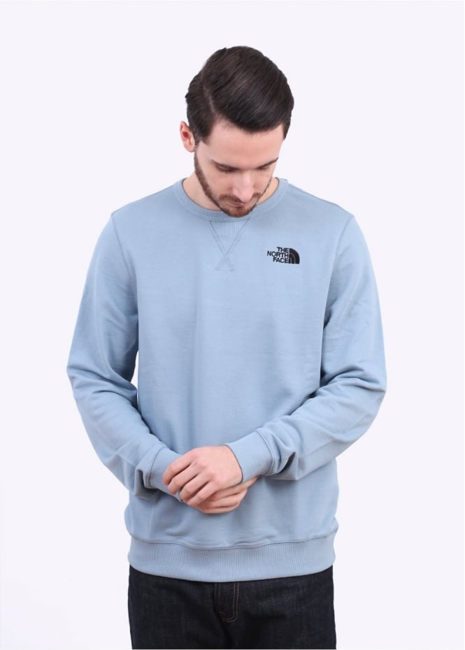 The North Face Mountain Pullover Sweater - Faded Denim Blue