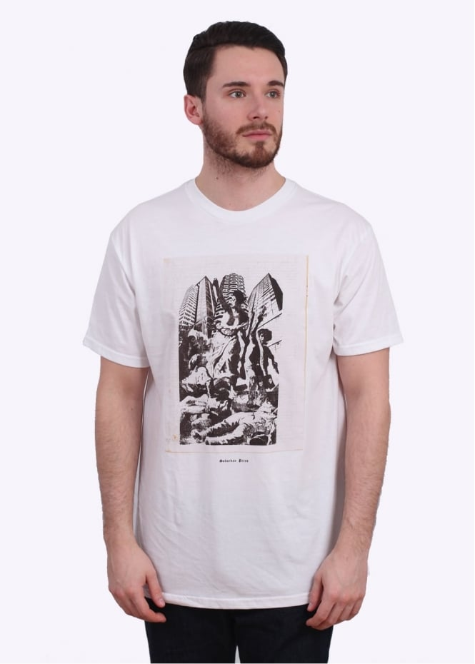 Obey x Jamie Reid Up They Rise Tee - White