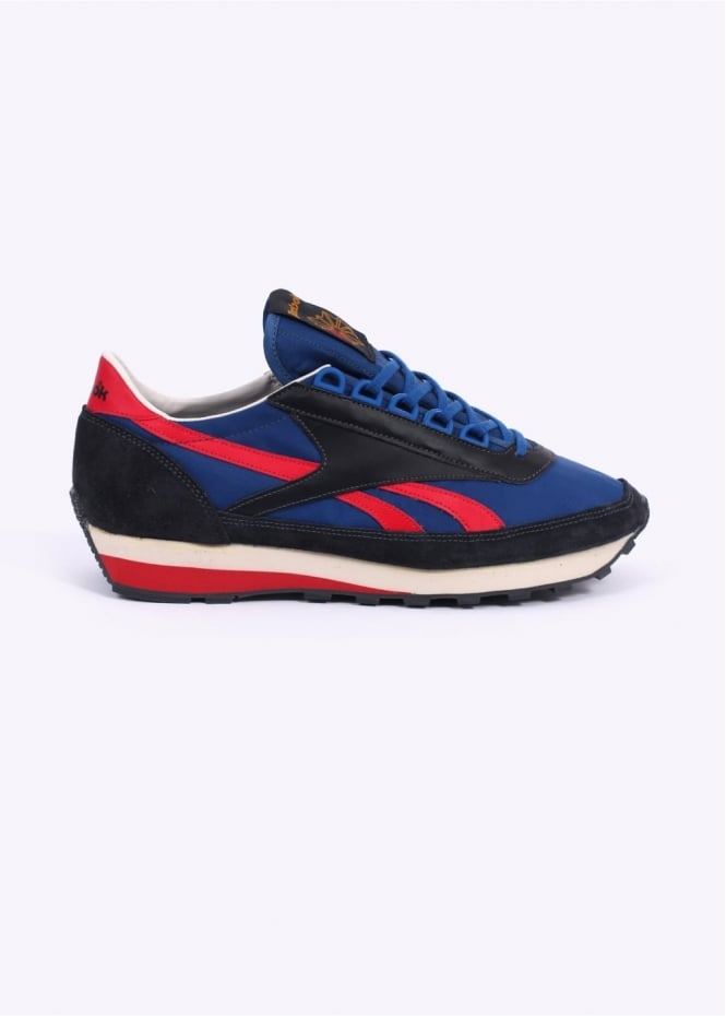 Reebok Aztec OG Trainers - Black / Collegiate Blue