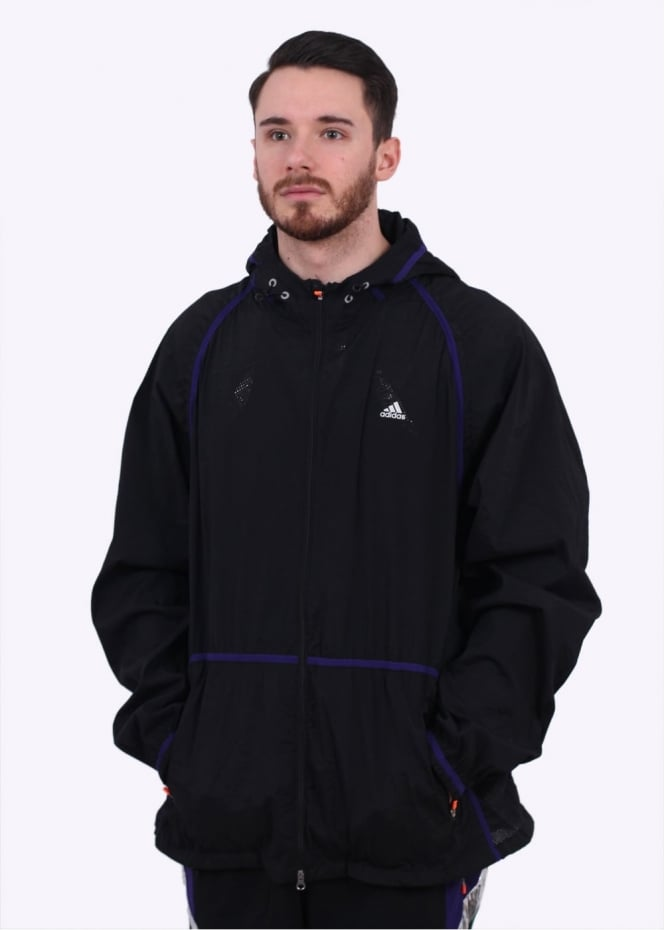 Adidas Originals Apparel x Kolor Woven Jacket - Black / Purple