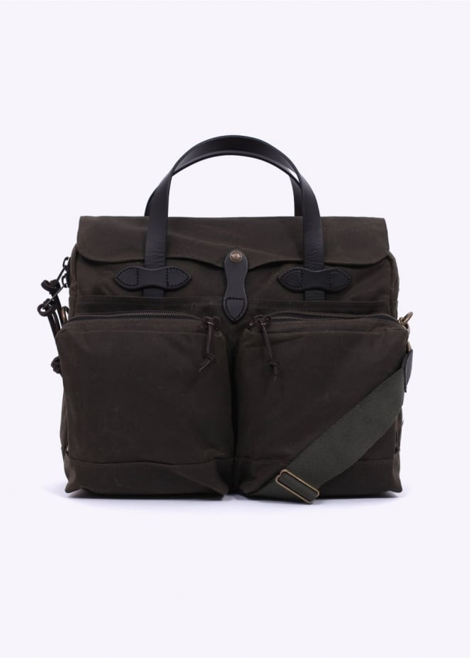Filson 24 Hour Briefcase - Otter Green