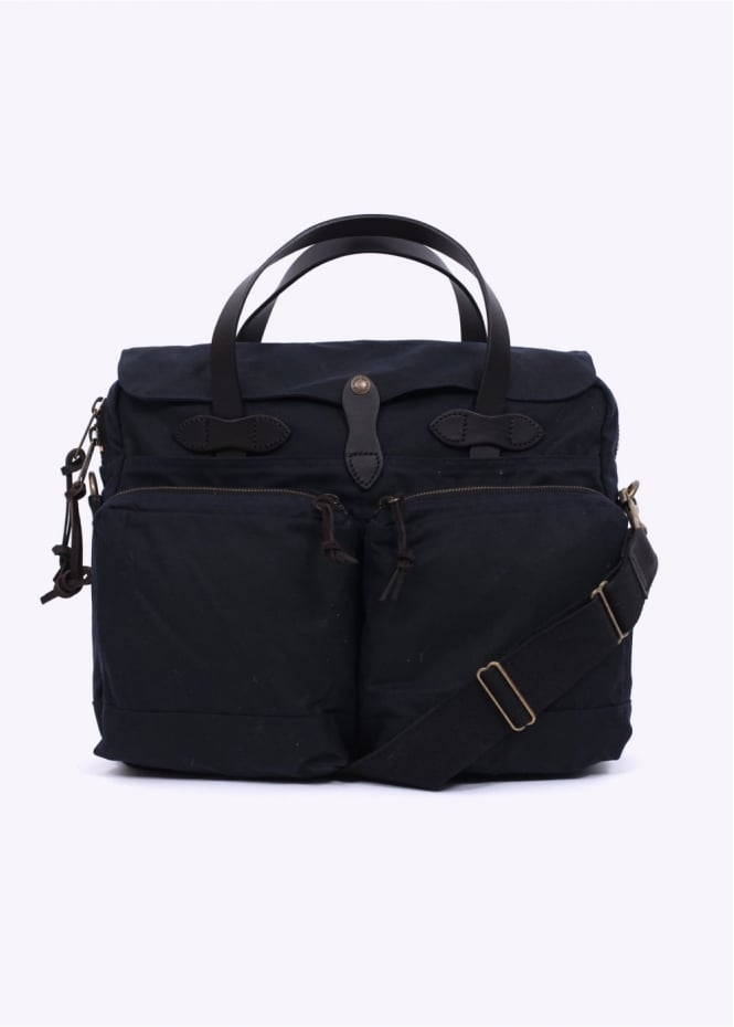 Filson 24 Hour Tin Briefcase - Navy