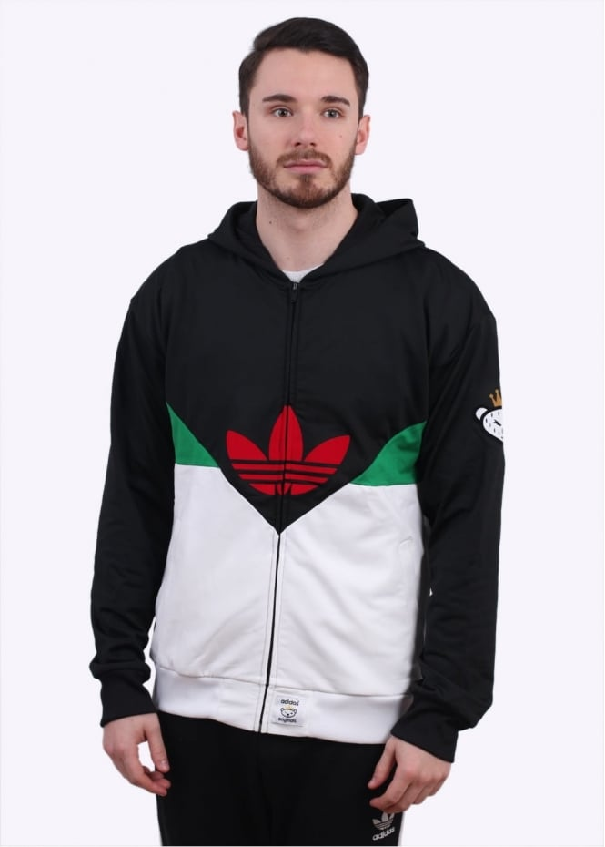 Adidas Originals Apparel x Nigo Colorado FZ Hoody - Black / Green