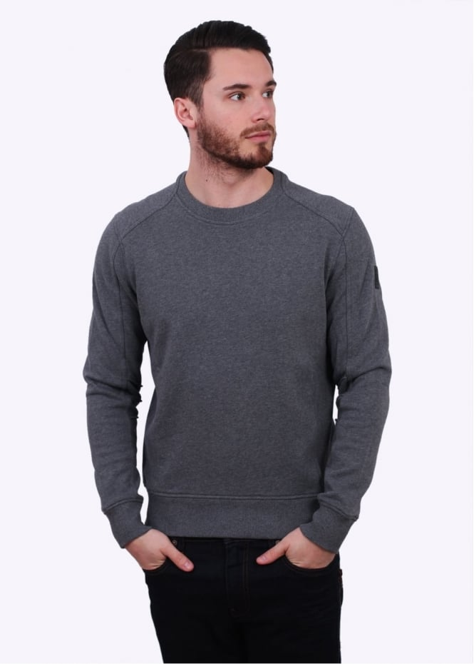 Belstaff New Chanton Sweatshirt - Mid Grey