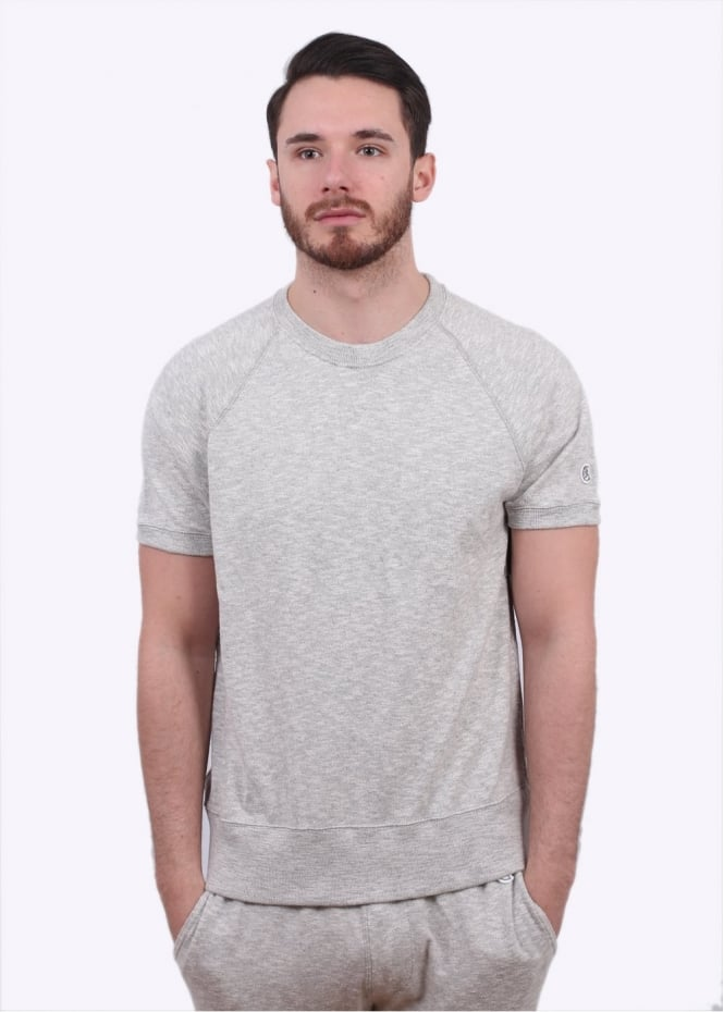 Champion x Todd Snyder Raglan Crew Tee - Grey Heather