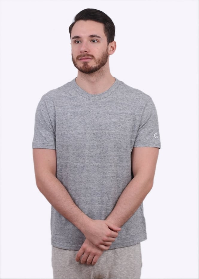 Champion x Todd Snyder Crew Tee - Grey Heather