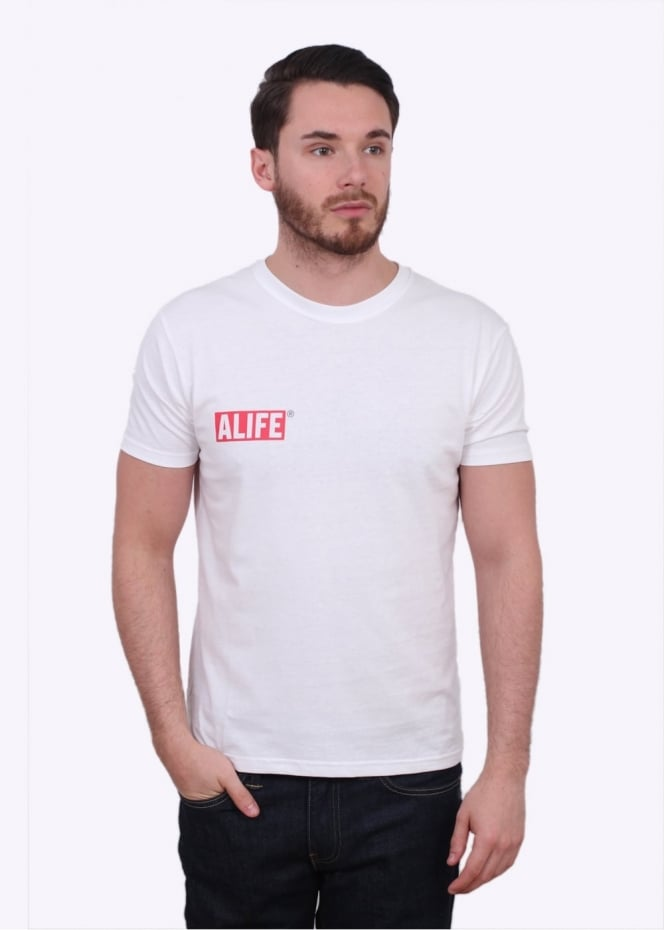 Alife Stuck Up Premium Tee - White