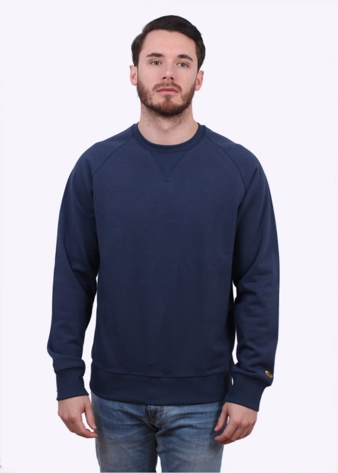 Carhartt Chase Sweater - Blue