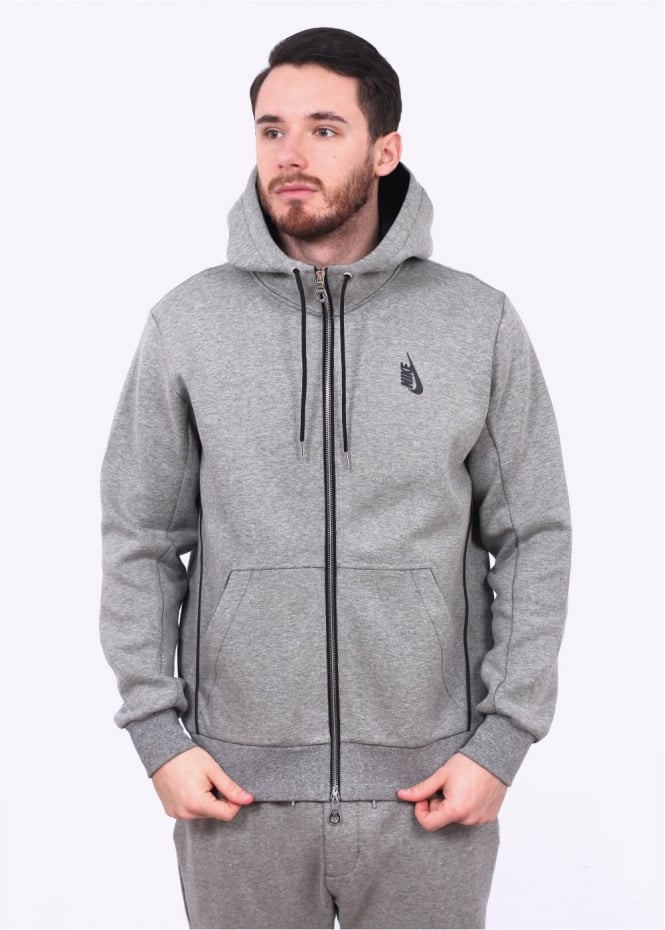 Nike Apparel NikeLab Essentials Hoodie - Dark Grey Heather