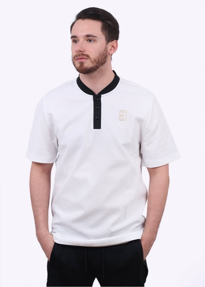 Nike Apparel NikeCourt Polo - White / Gold