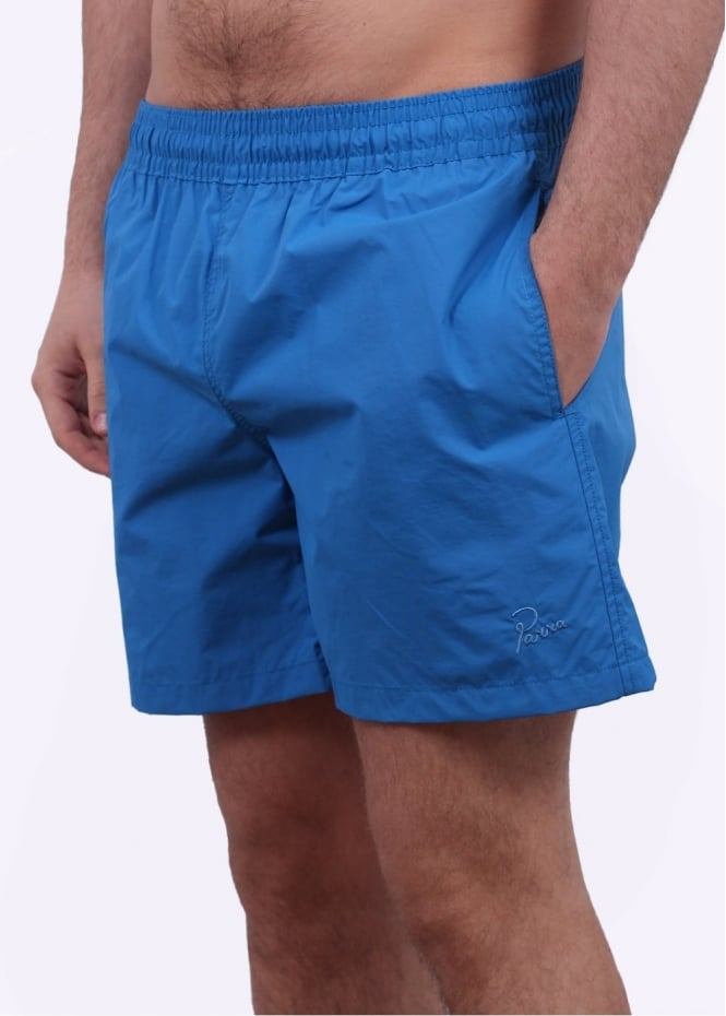 Parra Logo Summer Shorts - Blue